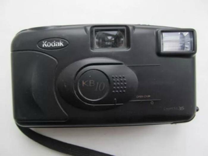 Пленочный фотоаппарат. | Фото: Екабу.