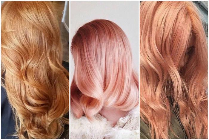 Клубничный блонд.