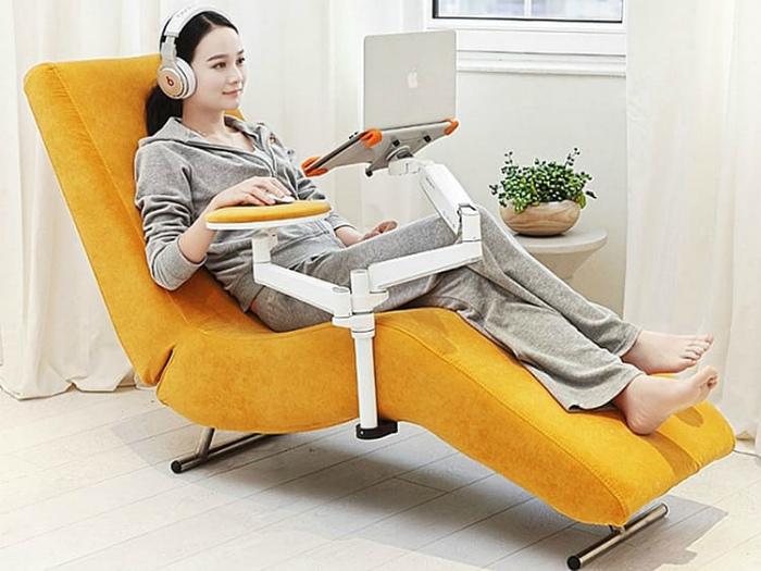 Яркое и удобное кресло. | Фото: Serviceyards.com.
