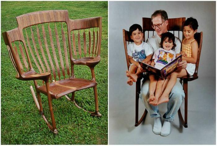 Семейное кресло-качалка.