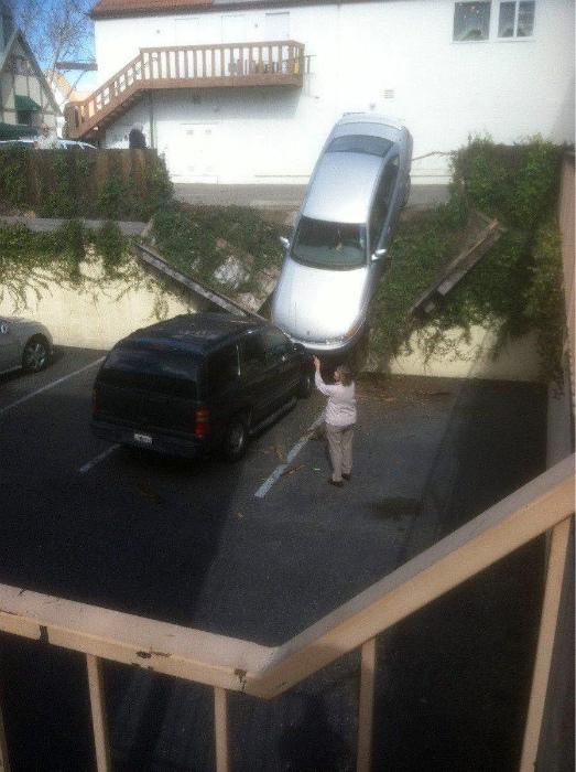 Самая провальная парковка. | Фото: pixmafia.com.