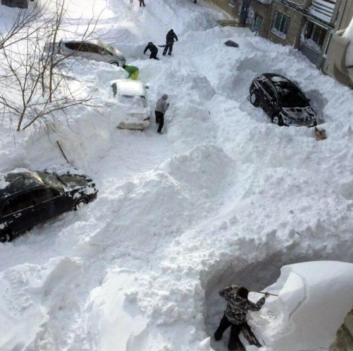 Традиционные зимние мероприятия.