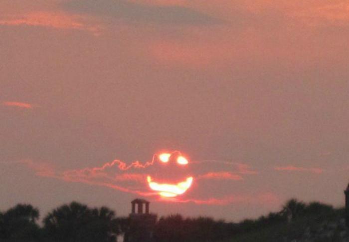 Злое солнце. | Фото: Grillratte.