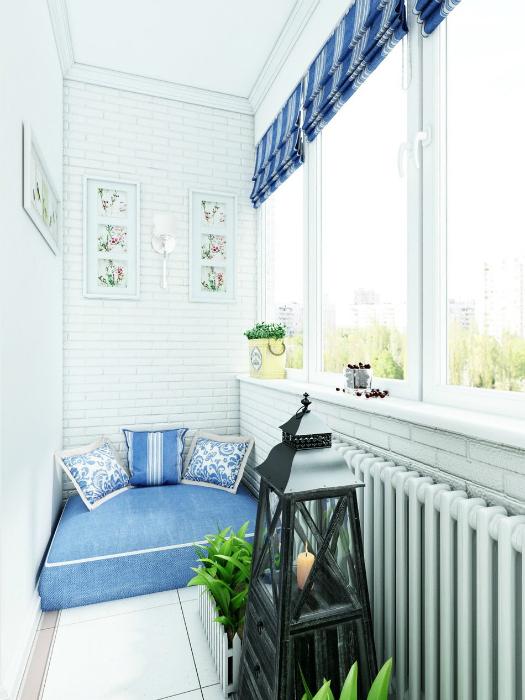 Балкон в стиле прованс.