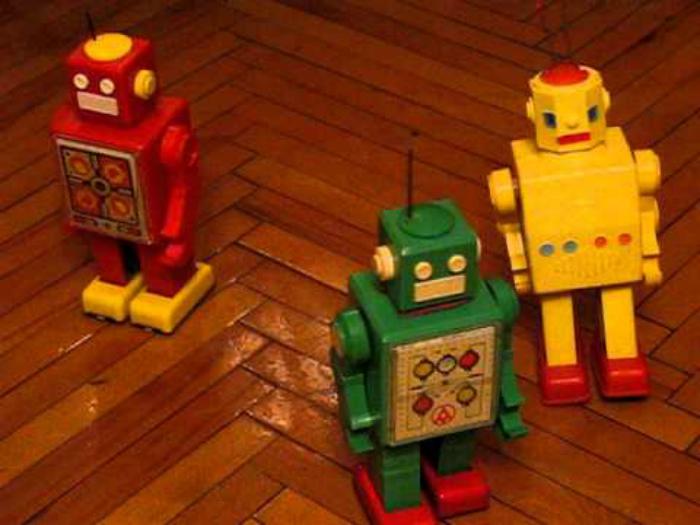 Механические роботы.