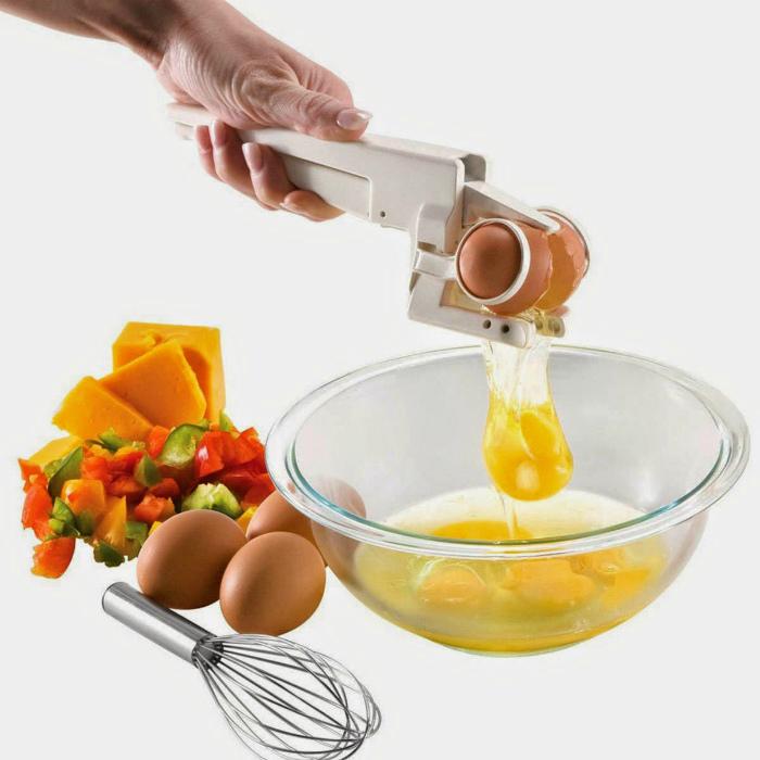 Приспособление для разбивания яиц.
