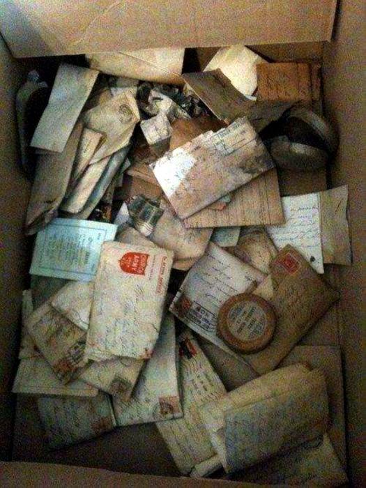 Фронтовые письма времен Первой мировой.