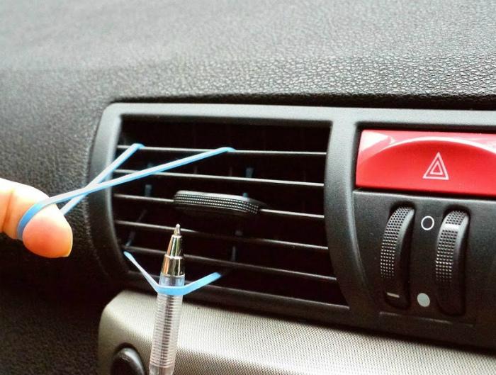 Автомобильный держатель для мелочей.