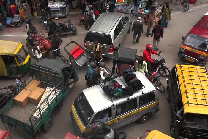 Правила дорожного движения. | Фото: YouTube.