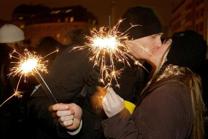 Новый Год в Болгарии.