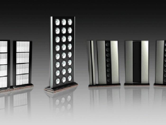 Цена: $2 миллиона.<br>Эти колонки имеют двенадцать динамиков на 500 ватт, два усилителя мощности, четыре 15-ти дюймовых сабвуфера. Они изготовлены из самолетной стали, а их вес более 5-ти тонн.