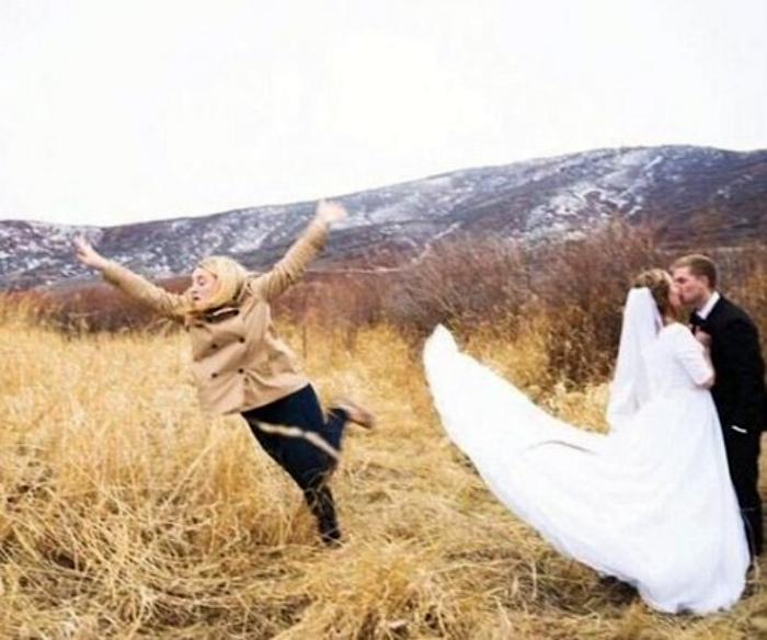 Когда бывшая подруга жениха врывается в вашу свадьбу... | Фото: Одесский форум.