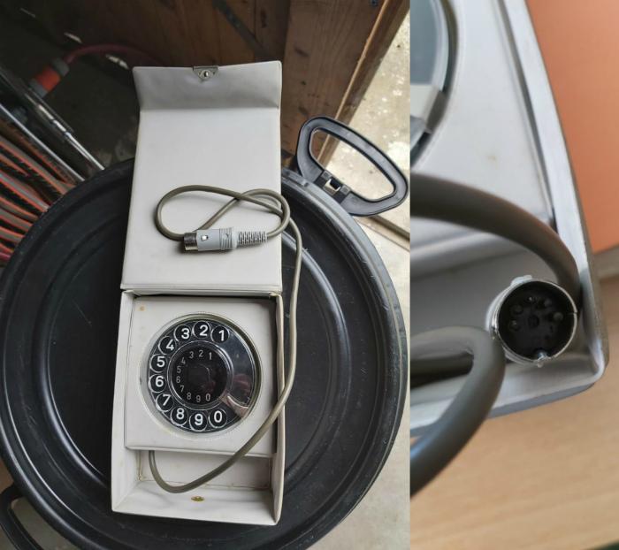 Странный телефон без трубки. | Фото: MADE IN CCCP.