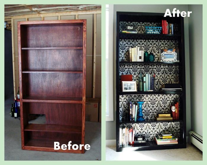 Новый вид книжного шкафа. | Фото: lubludachy.mirtesen.ru.