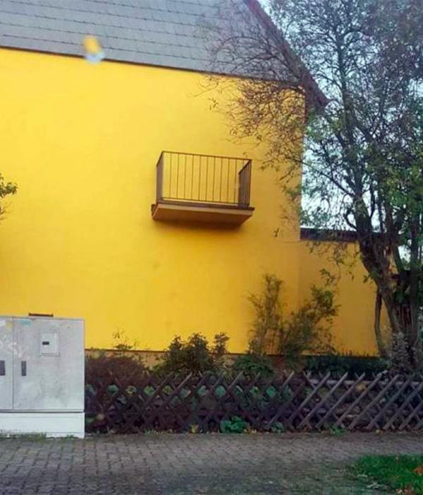 Набросок балкона. | Фото: Прикол.ру.