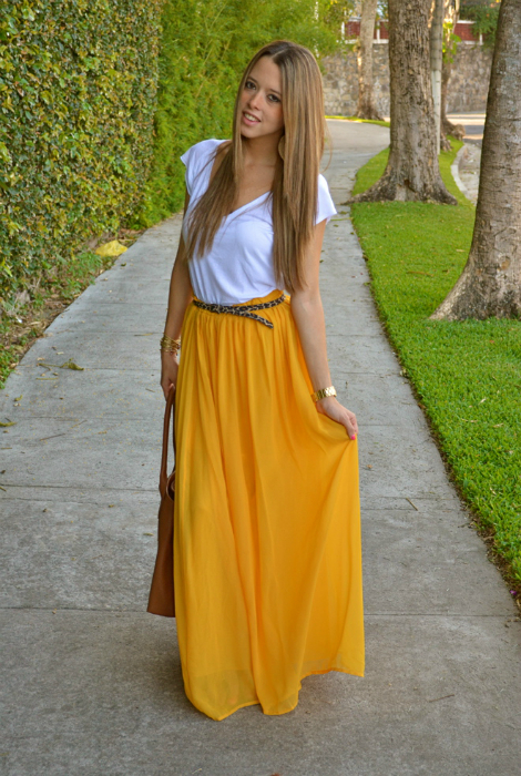 Long And Maxi Skirts Outfit Ideas 2019  FashionTastycom