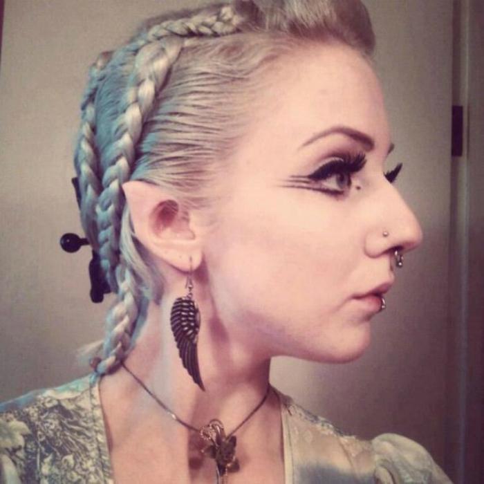 Эльфийские уши.