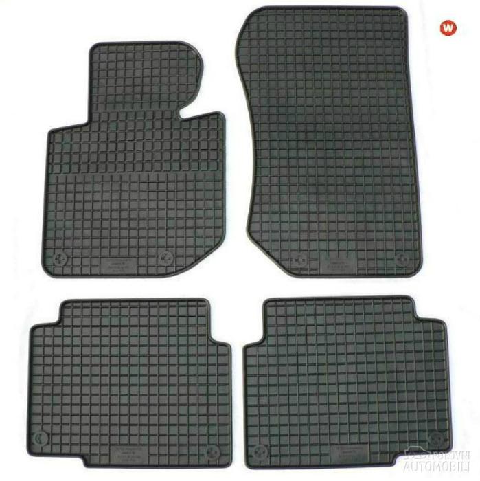 Резиновые коврики, которые защитят салон автомобиля от влаги и грязи.