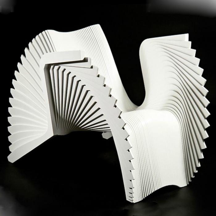 Струящийся стул «Монро» от Александра Уайта.