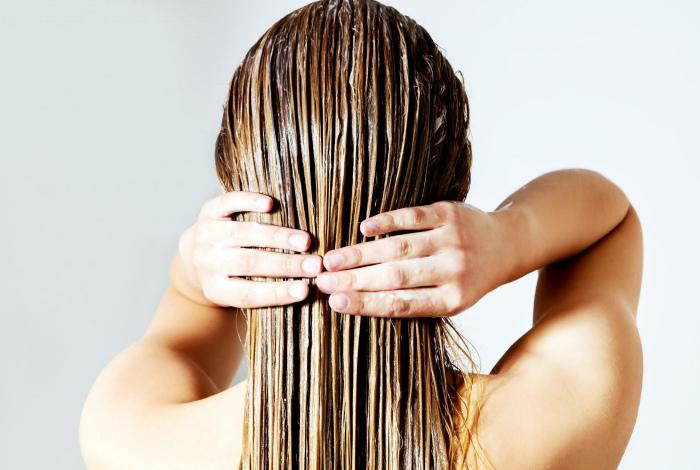 Восстановление сухих волос.