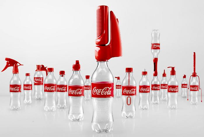 Функциональные детали Кока-Колы. | Фото: Flipboard.
