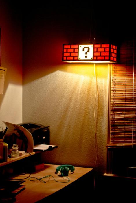 Настенный светильник. | Фото: Pinterest.