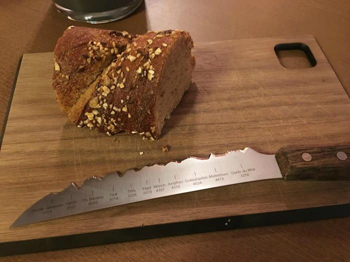 Нож с необычным лезвием. | Фото: Dama.bg.