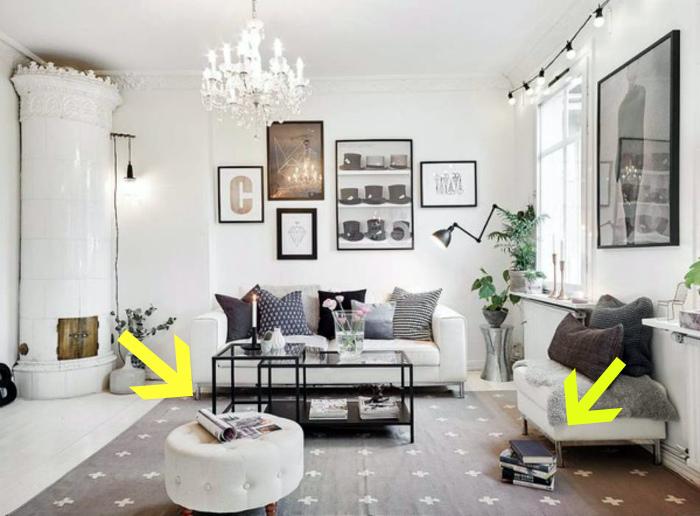 Легкая небрежность в интерьере. | Фото: Идеи вашего дома.