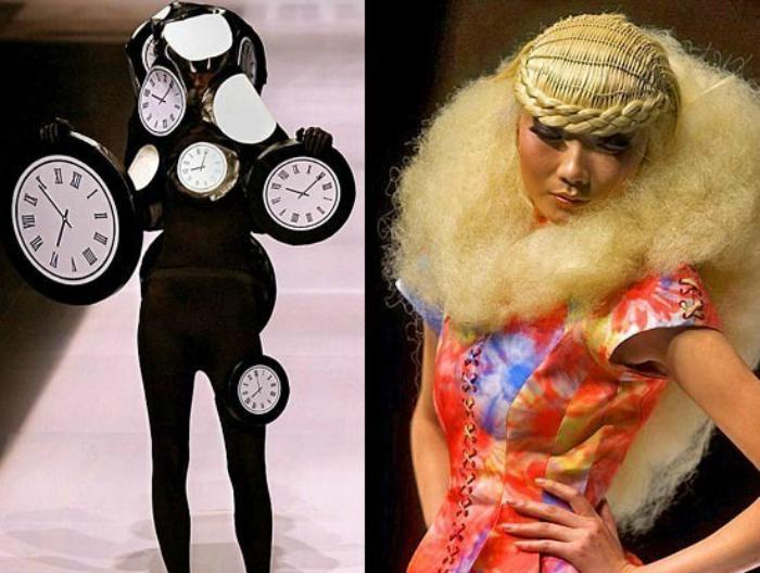 Шедевры начинающих китайских дизайнеров.