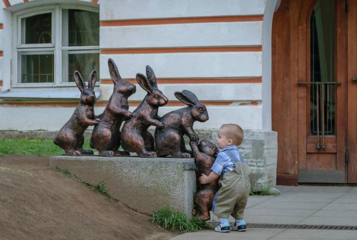 Маленький помощник.