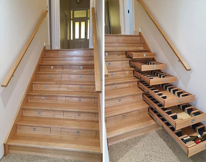 Лестница и винный погреб. | Фото: Know Your Meme.