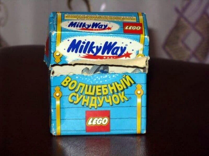 Сундучок Milky Way.