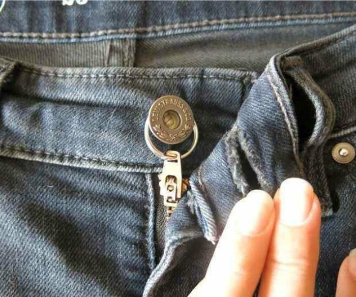 Ширинка на штанах. | Фото: justwoman.club.