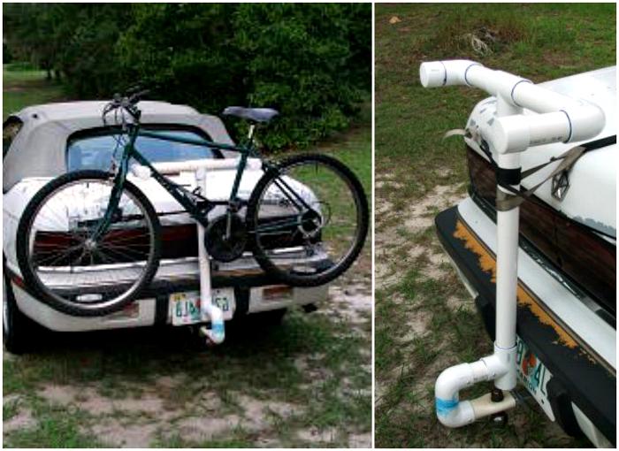 Крепление для велосипеда на авто.