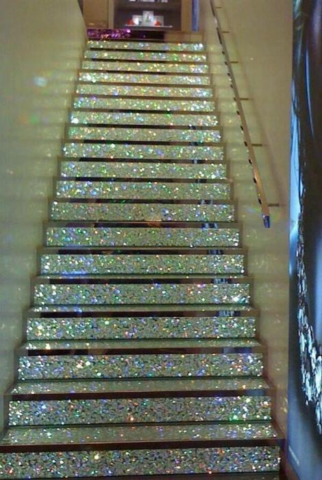 Мерцающая лестница.