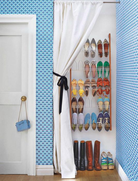Ниша для обуви. | Фото: Elle.