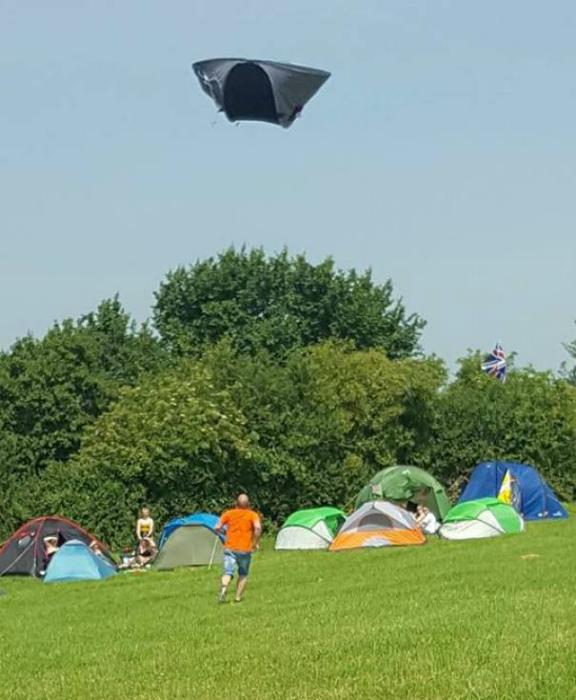 С палаткой можно попрощаться! | Фото: Genialne.