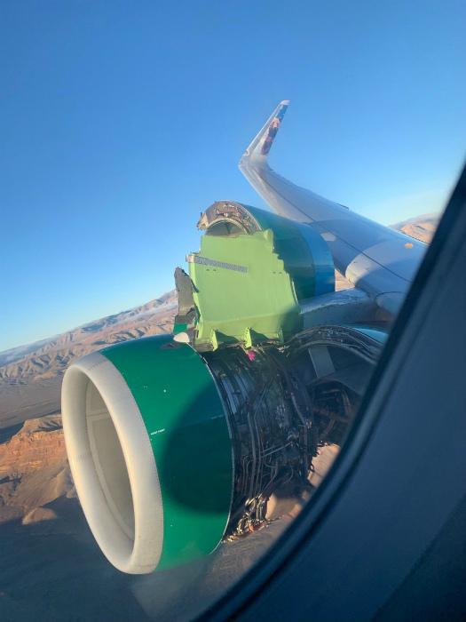Волнующий вид из окна самолета. | Фото: Яндекс Дзен.