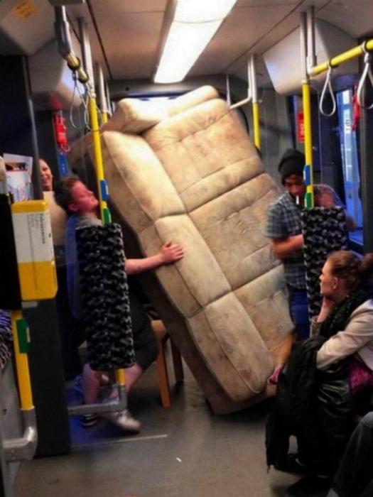Чудеса транспортировки! | Фото: Сайт Юмора.нет.