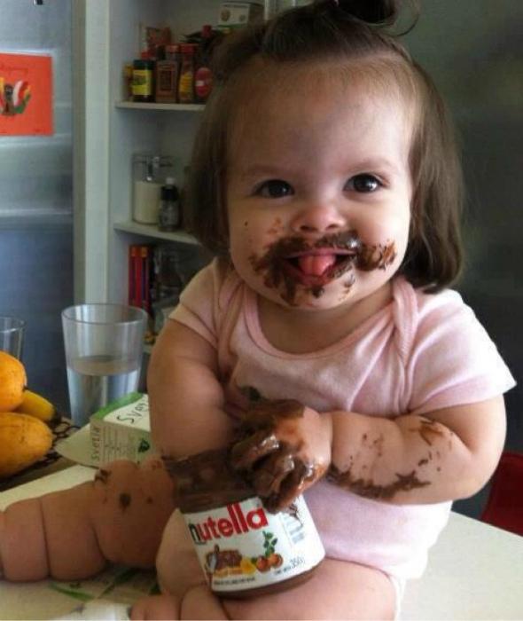Липкий ребенок - счастливый ребенок.