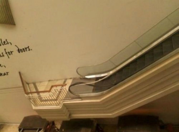 Загадочный эскалатор.