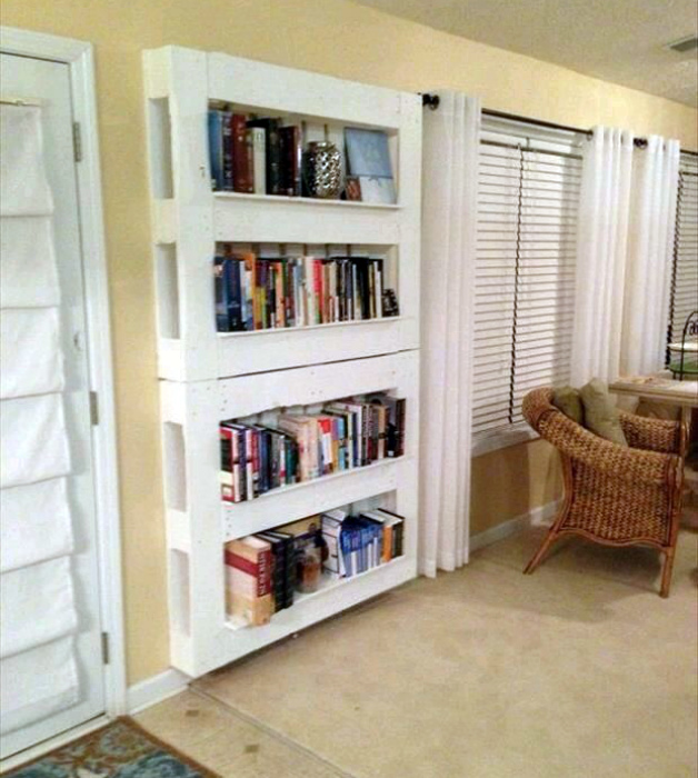 Стеллаж для книг. | Фото: induced.info.