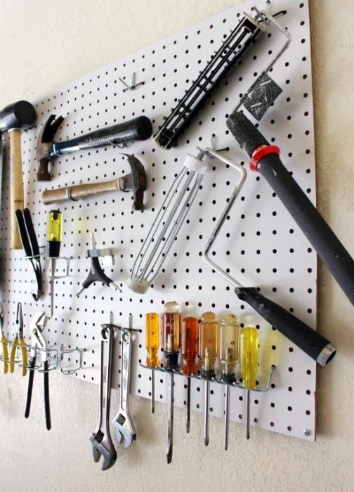 Система хранения инструментов.