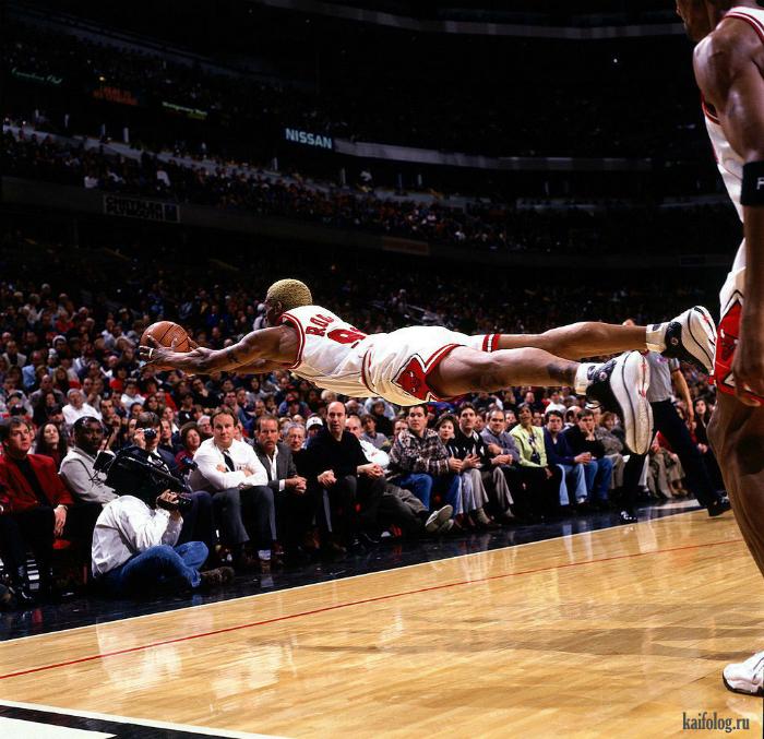 Ничего себе баскетболист!