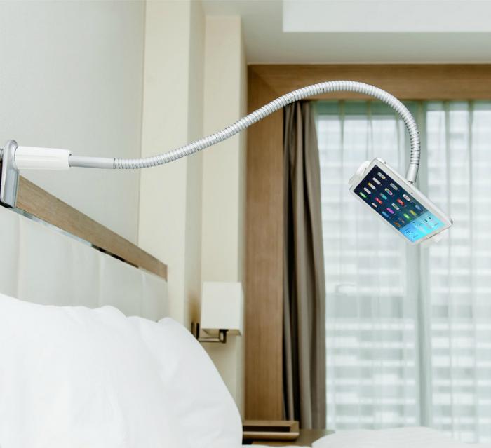 Гибкий держатель для телефона или планшета.