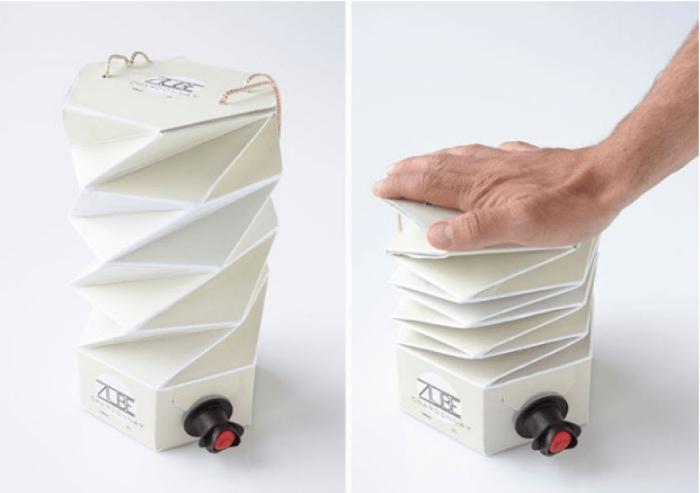 Упаковка оригами. | Фото: Электроблюз.