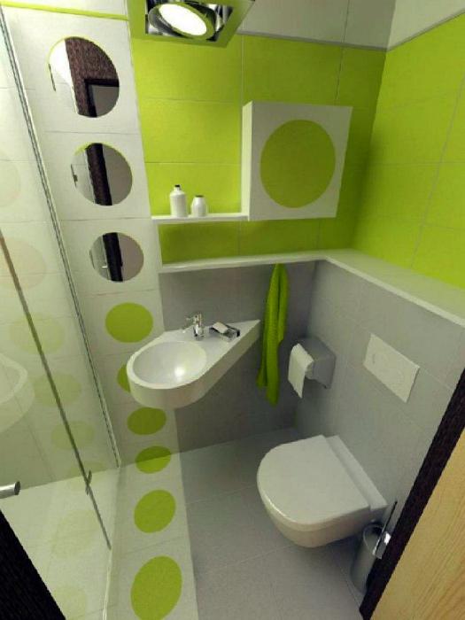 Смежный санузел в современном стиле. | Фото: Design m2.