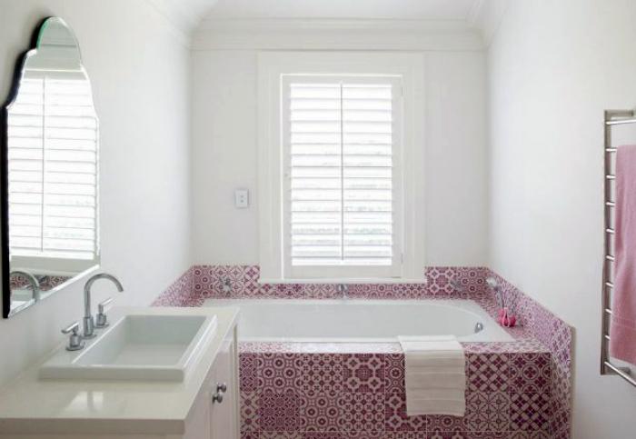 Ванна кімната в марокканському стилі.