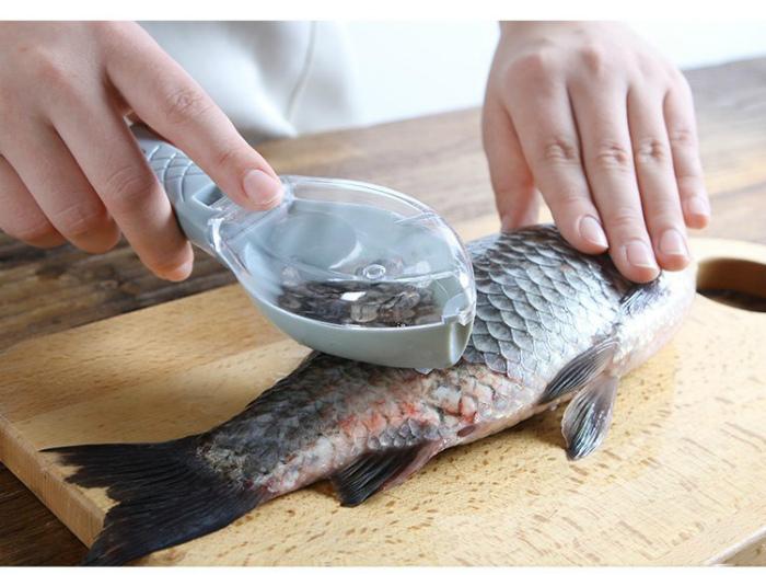 Устройство для очистки рыбы. | Фото: HQtor.ru.