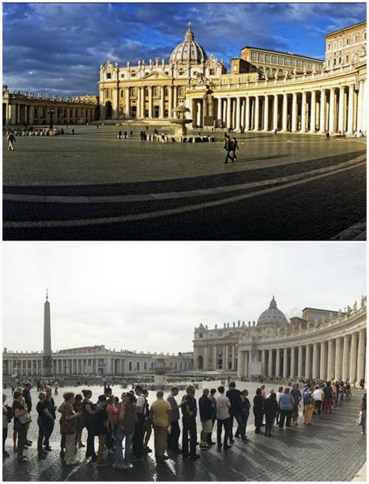 Площадь Святого Петра.